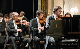 Složení orchestru - obrázek