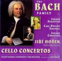 The Bach Family – Cello Concertos